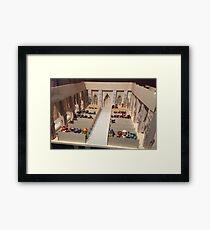 set design for The Muppets Take Manhattan Framed Print