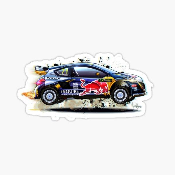Passend für Hoonigan aufkleber Racing Division stickers replik skull Ken Block