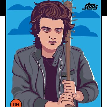 Steve Harrington - Hawkins Hot Hitters: Edición de 1982 de wadekording
