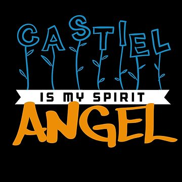 Castiel Is My Spirit Angel by firewhiskey