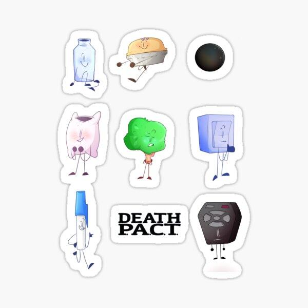 • Death P.A.C.T • Sticker