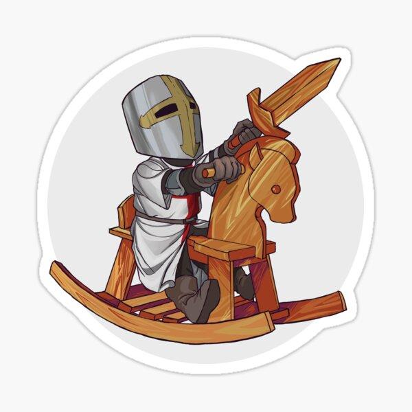 Little Crusader Sticker