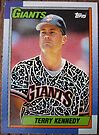 204 - Terry Kennedy by Foob's Baseball Cards