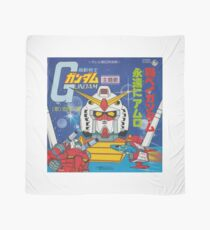 Mobile Suit Gundam Record Sleeve Front Cover Scarf