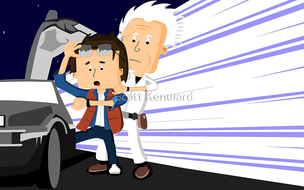 Back to the future with doc by Scott Weston