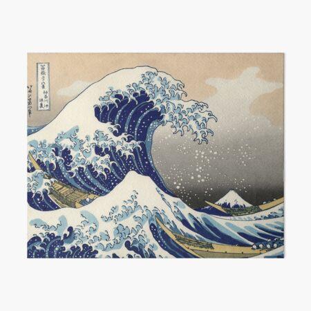 The Great Wave off Kanagawa Art Board Print
