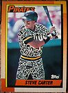 213 - Steve Carter by Foob's Baseball Cards