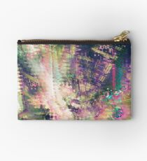 Fragmented Abstract Artwork Studio Pouch