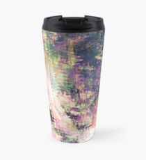 Fragmented Abstract Artwork Travel Mug