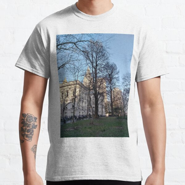 New York, Manhattan, New York City, Skyscraper, tower block, high rise building, tower, block, high rise, building Classic T-Shirt
