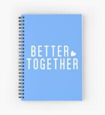 Cuaderno de espiral Jack Johnson - Mejor juntos