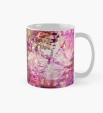 Fragmented Purple Red Abstract Artwork Mug
