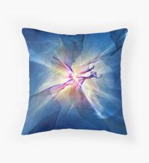 Galaxy Abstract Art Throw Pillow