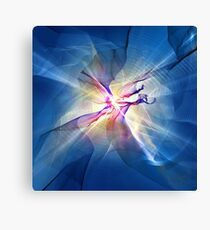 Galaxy Abstract Art Canvas Print