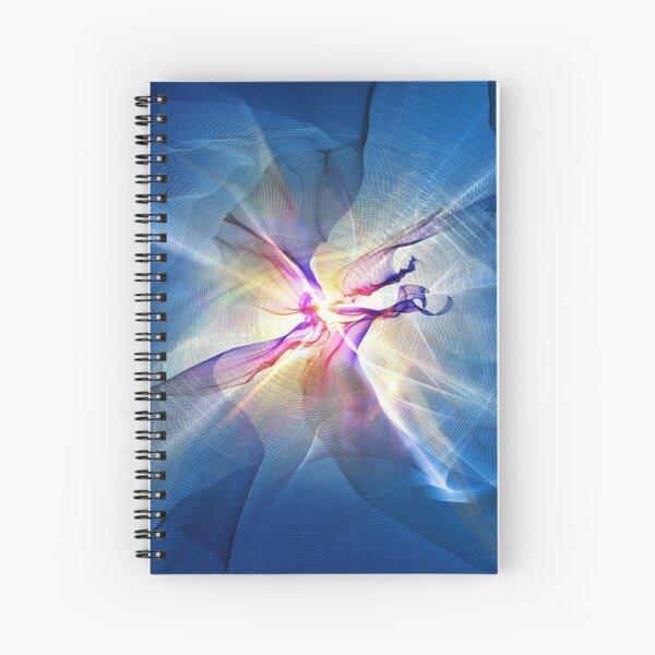Galaxy Abstract Art Spiral Notebook
