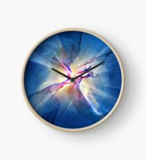 Galaxy Abstract Art Clock