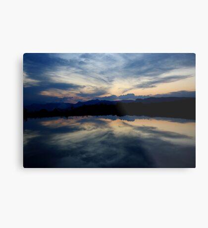 Reflections, Drakensberg, Free State Metal Print