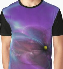 Gravitational Distort Space Abstract Art Graphic T-Shirt