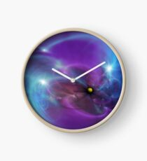 Gravitational Distort Space Abstract Art Clock