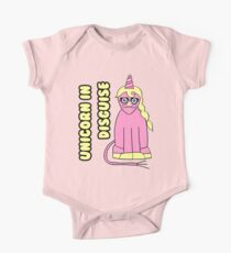 Unicorn In Disguise Kids Clothes