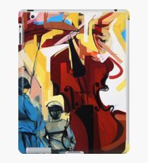 Expressive Cello People Painting iPad Case/Skin