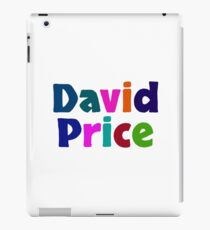 David Price iPad Case/Skin