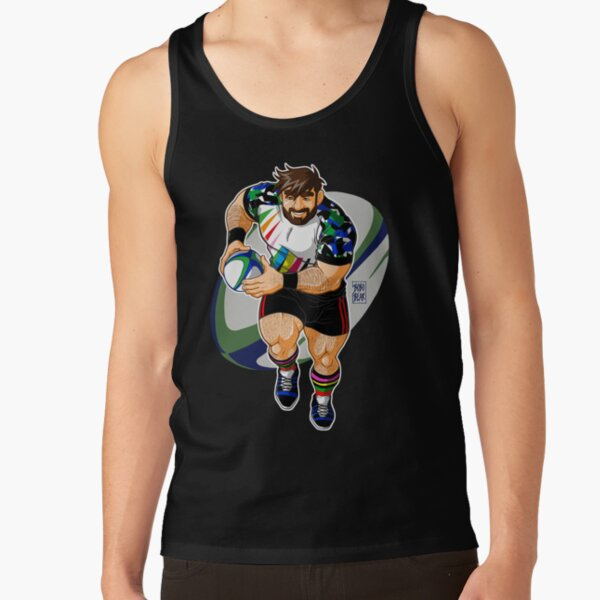 ADAM LIKES TO PLAY RUGBY Tank Top