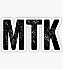 Montauk Distressed / Montauk Born Sticker