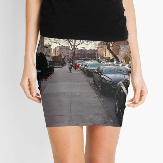 New York, Manhattan, New York City, Skyscraper, tower block, high rise building, tower, block, high rise, building Mini Skirt