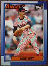 224 - Mike Witt by Foob's Baseball Cards