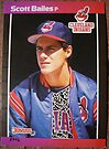 227 - Scott Bailes by Foob's Baseball Cards