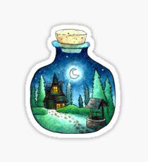 Pegatina Cabaña Moonlight