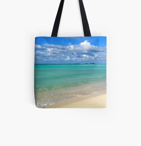 Breezy Day at Gillam Bay  All Over Print Tote Bag