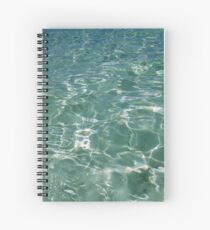 Waves and Ripples Spiral Notebook
