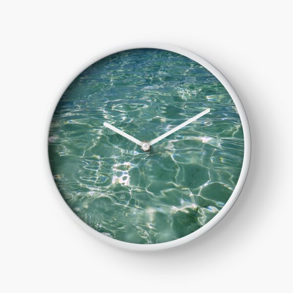 Waves and Ripples Clock