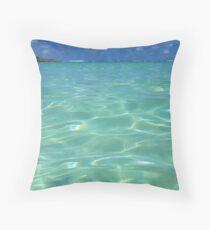 Bita Waves II Throw Pillow
