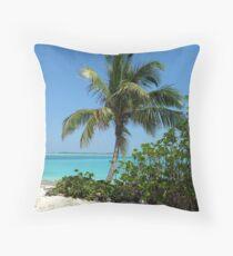 Pelican Cay  Throw Pillow