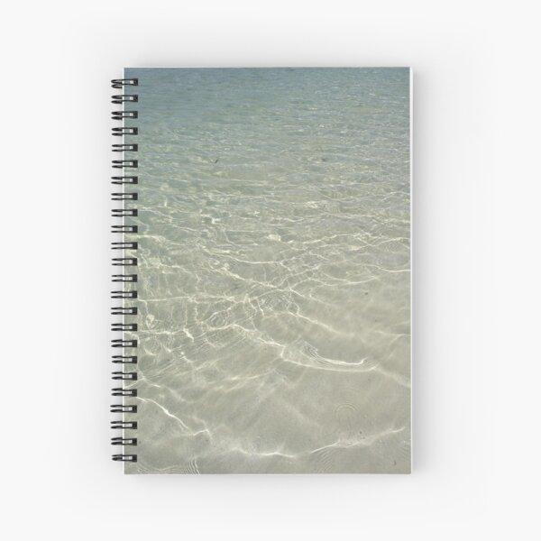 Clear Water Spiral Notebook