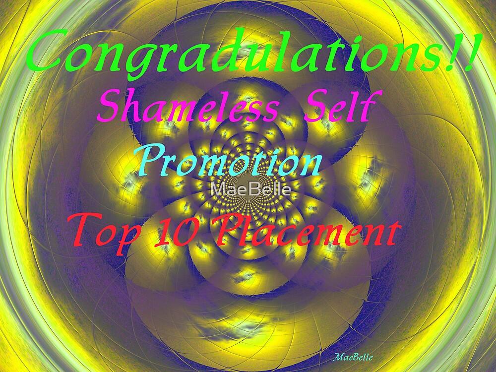 Banner for Shameless Self Promotion challange by MaeBelle