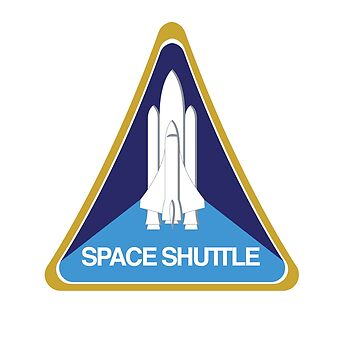 NASA Space Shuttle Patch by CarterCooper