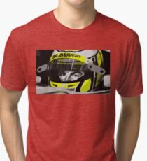 Jenson Button 2009 Tri-blend T-Shirt