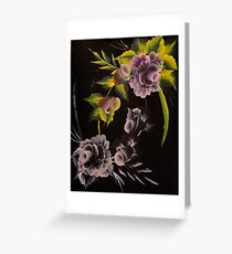 Opposite painting mixed media greeting cards redbubble opposite sides greeting card m4hsunfo