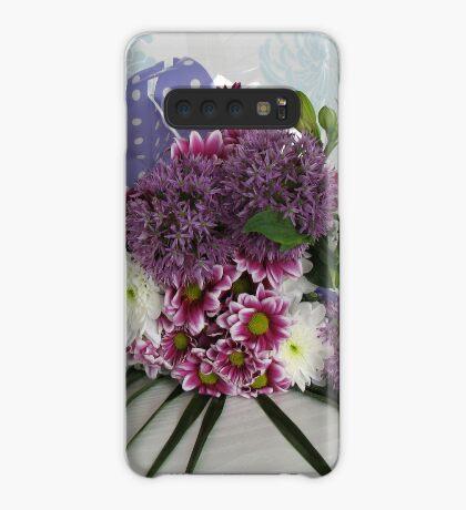 Strauß Hülle & Klebefolie für Samsung Galaxy