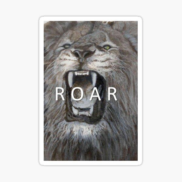 ROAR Sticker