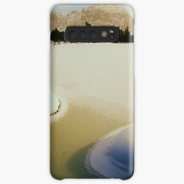 Winter at the Pool of Siloam Samsung Galaxy Snap Case