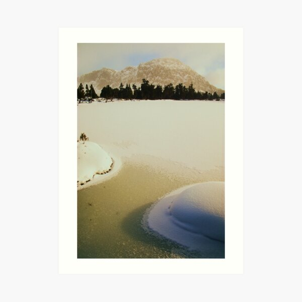 Winter at the Pool of Siloam Art Print