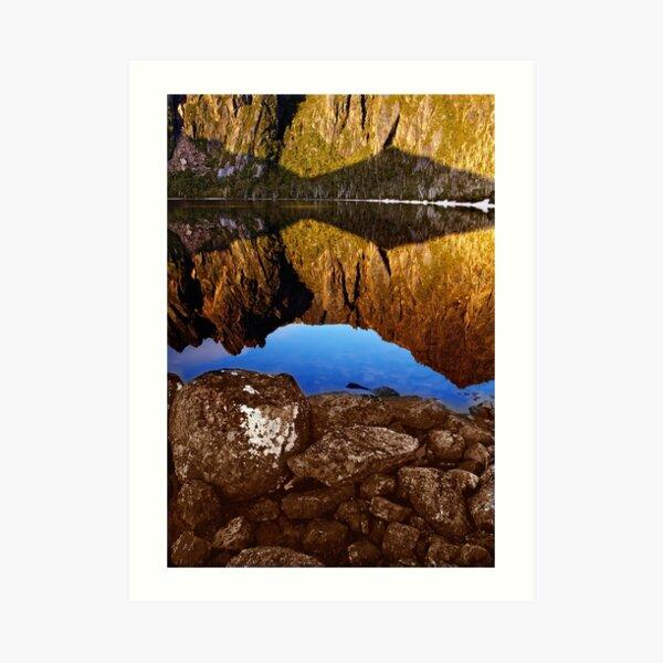 Lake Rhona, South West Tasmania Art Print