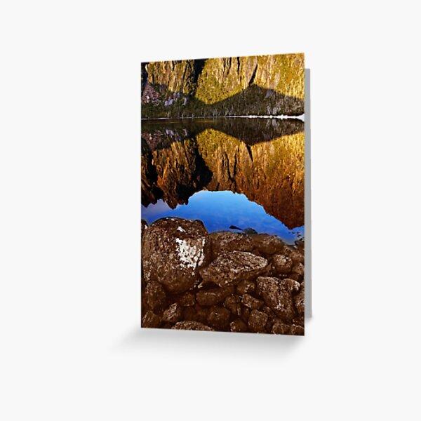 Lake Rhona, South West Tasmania Greeting Card