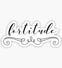 fortitude Sticker