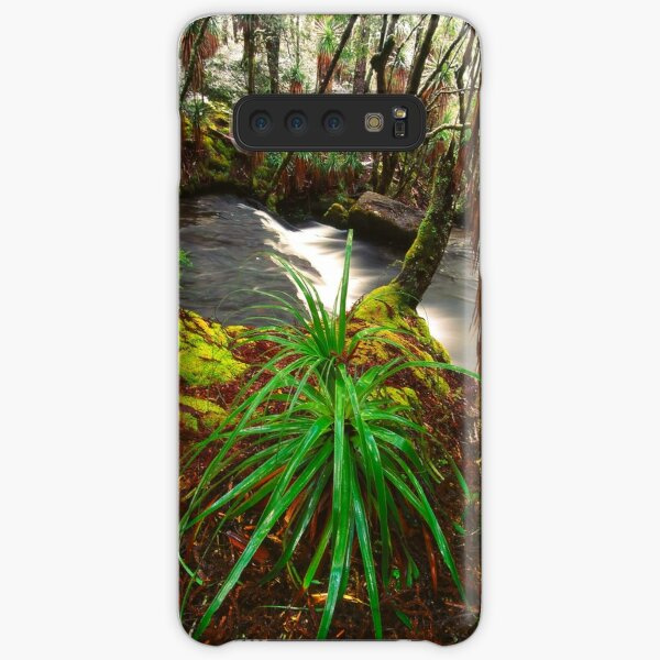 Pine Valley in winter, Tasmania Samsung Galaxy Snap Case